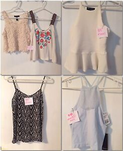$5 AND $10 XS-S ASSORTED LADIE'S CLOTHES
