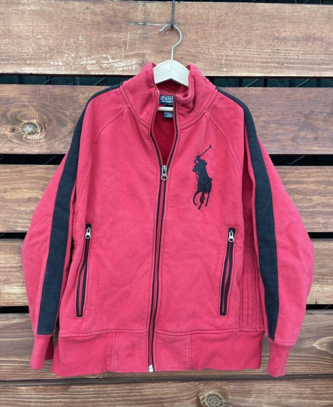 Ralph Lauren Boys Red Jacket Size 10-12