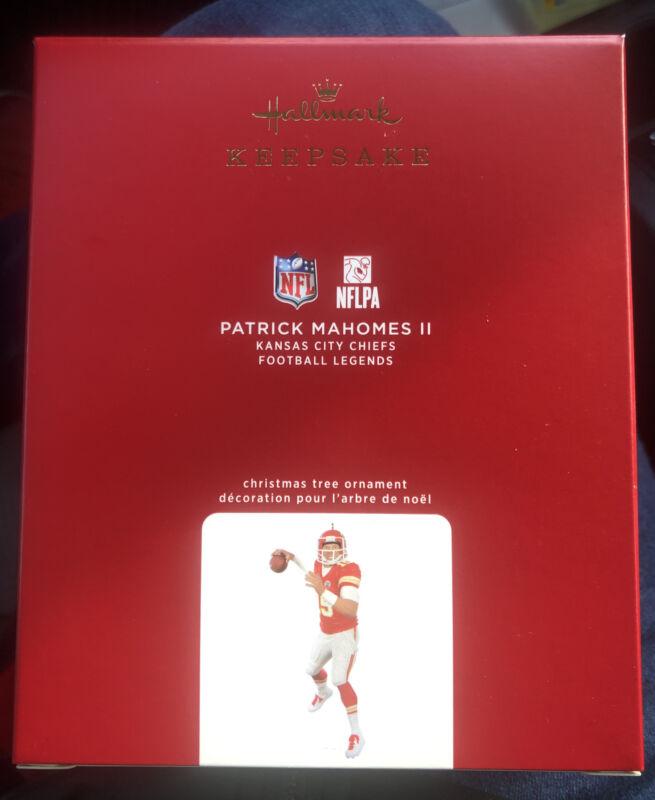 (1) 2020 PATRICK MAHOMES II Hallmark CHRISTMAS ORNAMENT 26TH NFL LEGENDS SERIES
