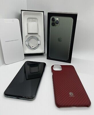 Apple iPhone 11 Pro Max - 64GB - Midnight Green (Unlocked) A2161 (CDMA + GSM)