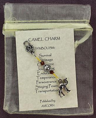 CAMEL CHARM 3D Totem Symbol Amulet Talisman Attraction Wild Desert Animal Magick