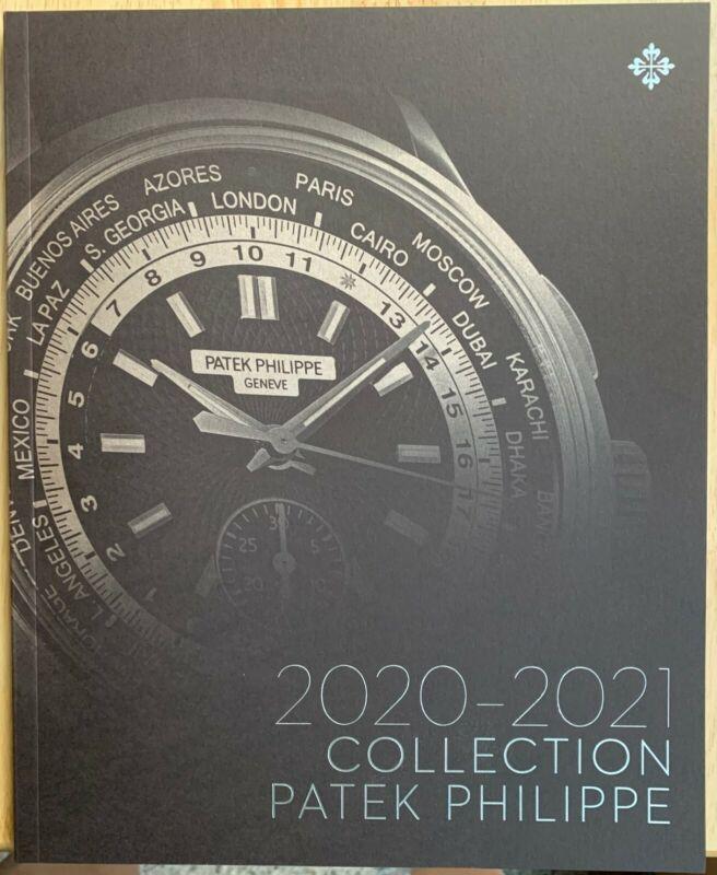Patek Philippe Watch Collection Color Catalog Men Women 2020-2021 New