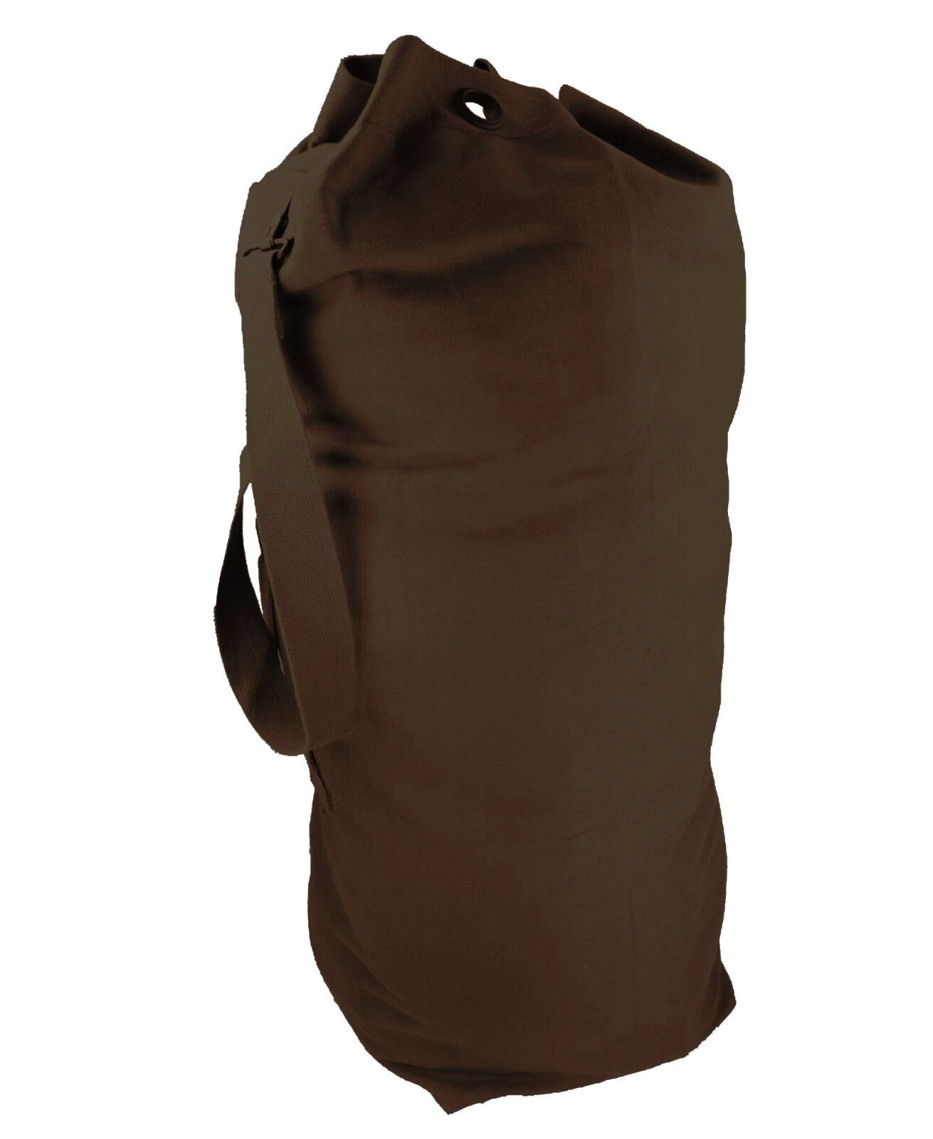 "Highlander Army Kit Bag 14/"" Base Canvas Military Army Cotton Tool Holdall Black"