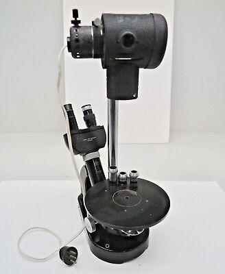 Leitz Wetzlar Binocular Microscope Periplan Gf 10x Eyepieces10x3.5x6x Object