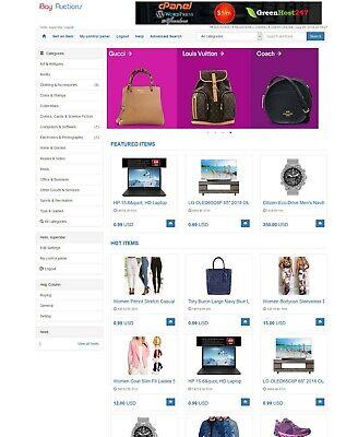 Online Auctions Website Free Hosting Installation