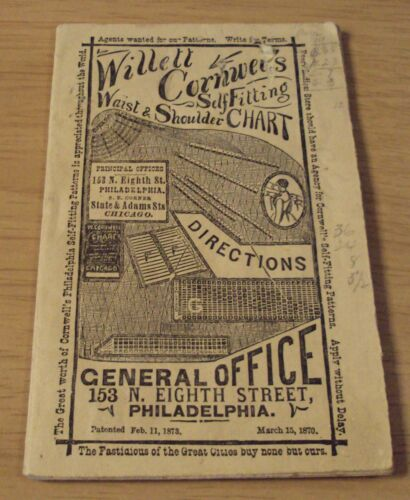 "RARE ca 1875 ""CORNWELL"