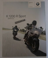 Bmw K1200 R Sport Pieghevole Catalogo Depliant Brochure Reclame Pubblicita -  - ebay.it