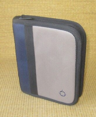 Compact 1 Rings Bluebrown Durable Sport Franklin Covey Zip Plannerbinder