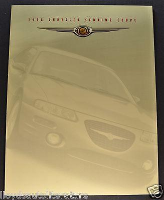 1998 Chrysler Sebring Coupe Sales Brochure Folder Excellent Original 98