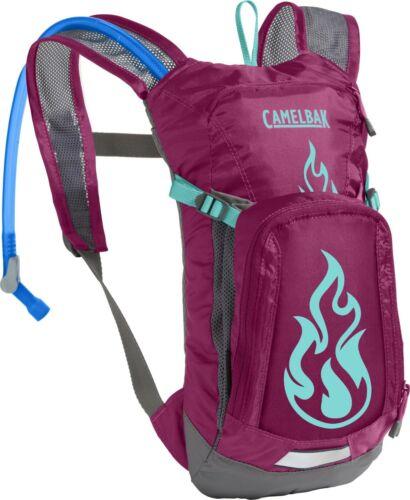 CamelBak MINI MULE 50oz/1.5L Kids Hydration Backpack Baton Rouge / Flames *NEW*
