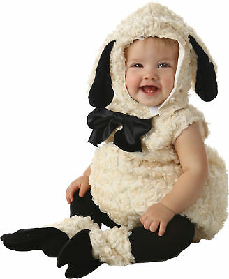 Vintage Lamm Kleinkinder Kinder Kostüm Farm Safari Tier - Lamm Kleinkind Kostüme