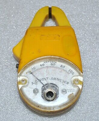 Amprobe Model Y500 Clamp Ac Volt Ammeter Small Handheld Commercial Surplus