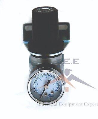 14 Air Compressor Regulator Industrial Grade W Pressure Gauge Mount Bracket