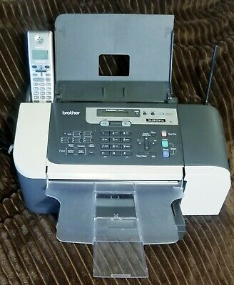 Brother Intellifax 1960c Fax Machine All In One Ink-jet Printer Copier
