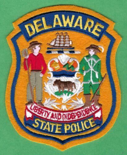 DELAWARE STATE POLICE SHOULDER PATCH