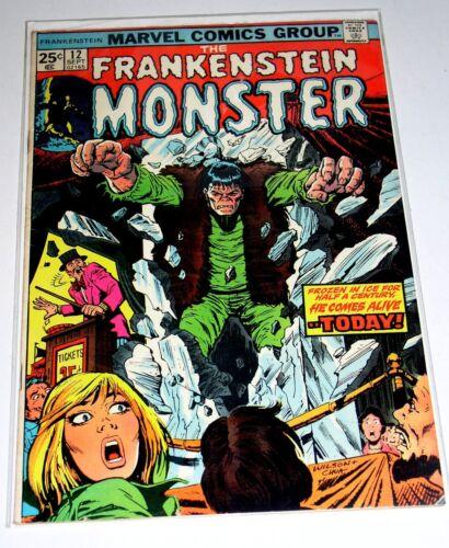 FRANKENSTEIN #12   BRONZE AGE MARVEL