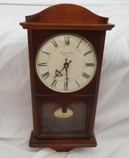 Timber Pendulum Clock -Made in the UK by the London Clock Company