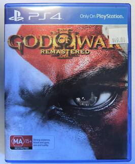 God of War III 3 Remastered PS4 Game