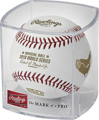 Rawlings 2018 World Series Dueling Teams MLB Baseball Red Sox vs Dodgers Cubed