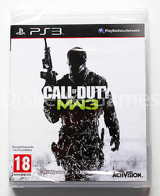 CALL OF DUTY MODERN WARFARE 3 - PLAYSTATION 3 PS3 PLAY STATION...