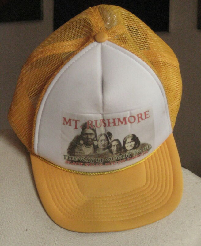 """""""MOUNT RUSHMORE THE WAY IT OUGHT TO BE"""" Mesh Farmer"""
