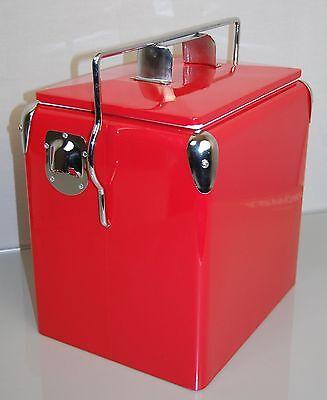 Retro Kühlbox  USA Picknick Cooler Rot Coca- Cola Getränke Softdrink Oldtimer Ne