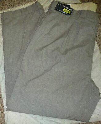 POLO RALPH LAUREN Men THE SIENA PANT CHECK COTTON DRESS PANTS/Slack~Size 40 x 32