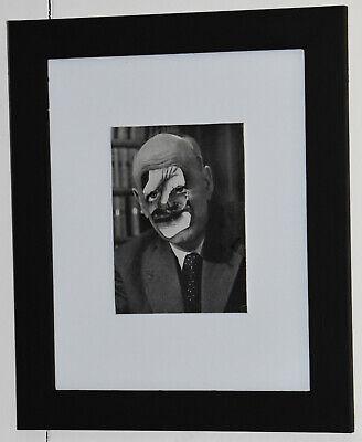 Original framed abstract collage artwork 'Misspent Wisdom'
