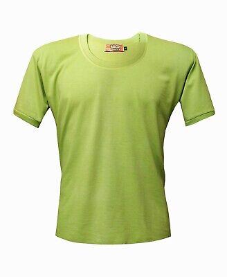 BROX SISTER. Camiseta hombre. Talla Grande. Verde Kiwi