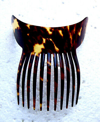 Victorian Wigs, Hair Pieces  | Victorian Hair Jewelry Late Victorian classic style hair comb faux tortoiseshell hair ornament $150.00 AT vintagedancer.com