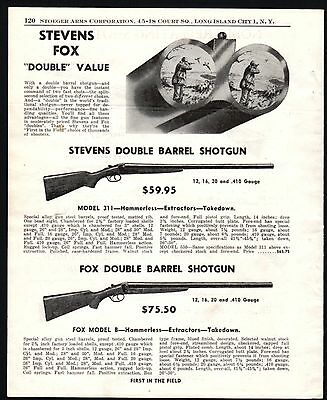 Advertisements - Double Barrel Shotgun Ad