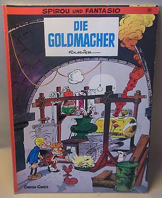 """Carlsen Verlag Comic Spirou und Fantasio Band 18 """" Die Goldmacher """""""