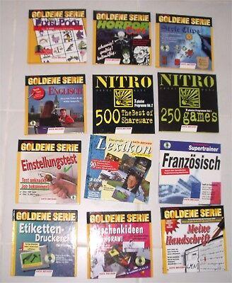 Data Becker Goldene Serie - Sprachen lernen, Spiele, Anwendungen, Büro (12 x)