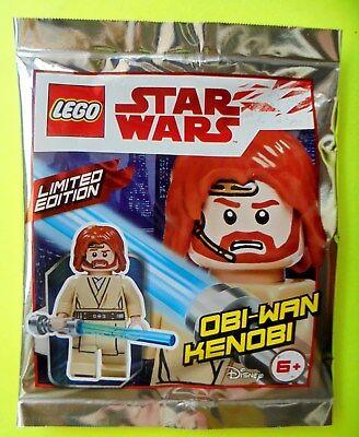 Lego Star Wars Minifigur Obi-Wan-Kenobi mit blauem Lichtschwert Laserschwert Ovp