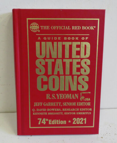 Hardcover 2021 RED BOOK Specialty Printed