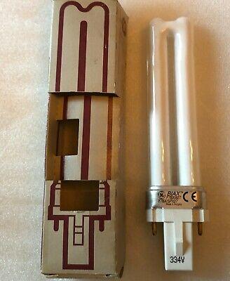 GE 37846 F7BX/SPX27/82 7 Watt T4 2-Pin Plug Biax S Compact Fluorescent - Biax 2 Pin Plug