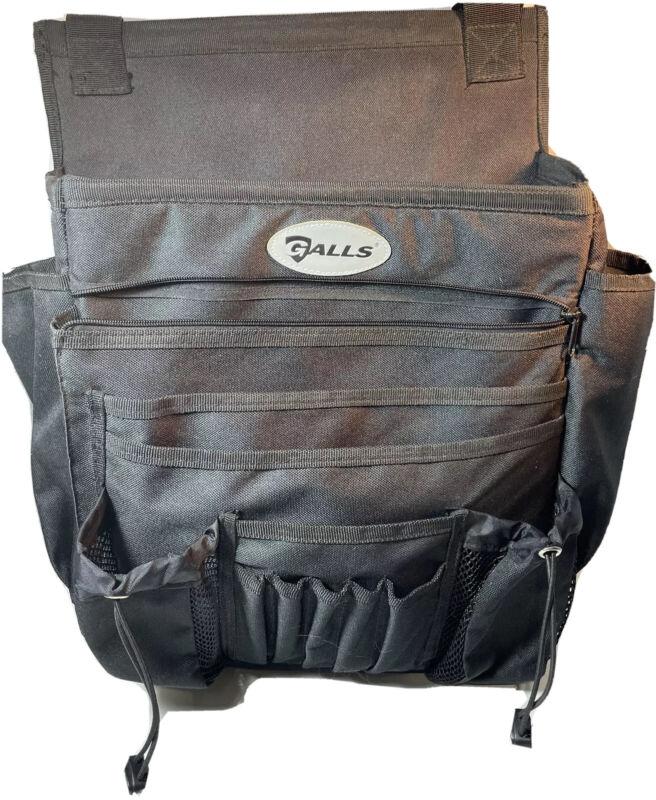 Galls Car Organizer Passenger Seat Black Police Business Laptop Files Water Zip