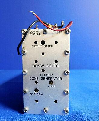 Agilent Hp Keysight 08565-60118 Comb Generator 100 Mhz