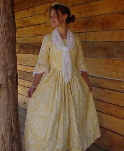 Historical-Clothing-Costumes-Victorian-Colonial-Pioneer-Yellow-Felicia-6-7