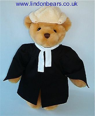NEW BARRISTER LINDON JOINTED TEDDY BEAR –16INCH / 40CM TALL–RRP £39 NOW ONLY £24