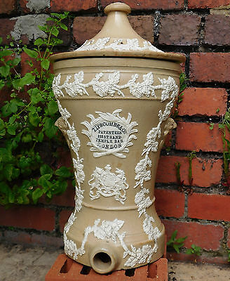 Antique water filter Lipscombe Victorian patent stone ware COLLECTION ONLY
