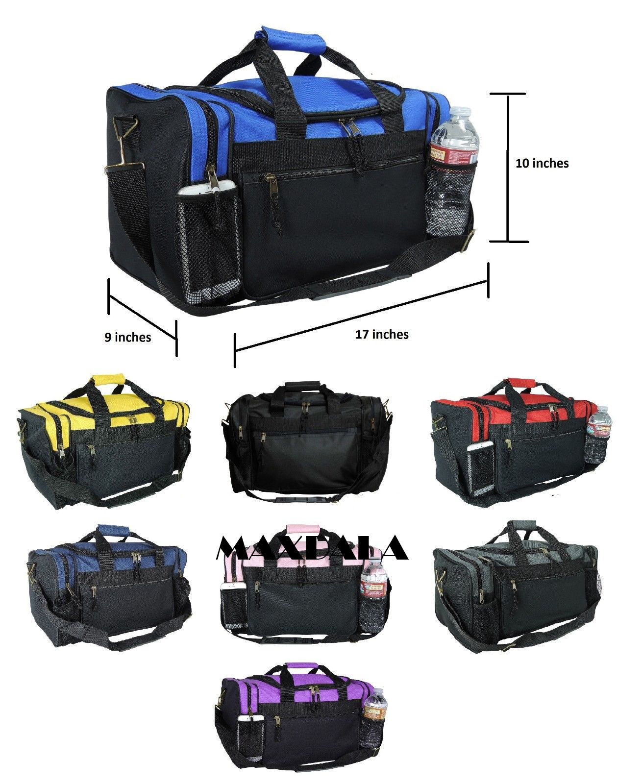 GLORY ART Adjustable Luggage Strap TSA Approved Lock Heavy Duty Suitcase Straps Travel Belts Accessories 1-Pc Burrito