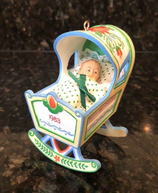 1983 Hallmark Keepsake Ornament Baby's 1st Christmas NIB ( #4 )