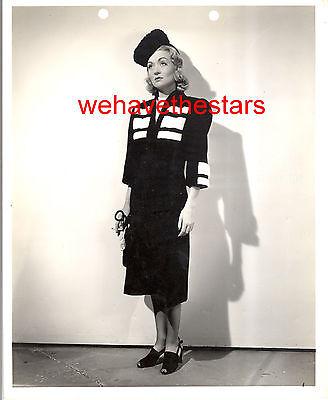Vintage Constance Bennett GORGEOUS CHIC FASHION 30s Publicity Portrait