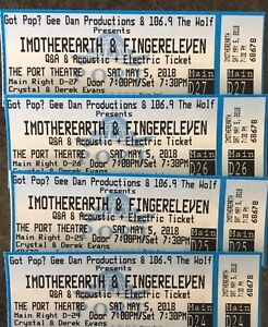 I Mother Earth & Finger Eleven tickets
