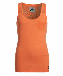 Superdry-Mujer-Top-Super-Sewn-Lace-Rugged-Fluro-Coral