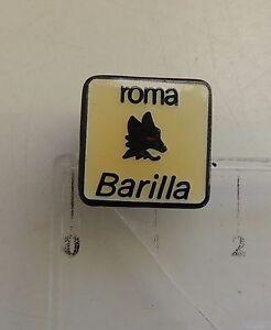 AS Roma FOOTBALL CLUB old BADGE 1980s lovely pin anstecknadel Barilla sponsor - <span itemprop='availableAtOrFrom'>Solec Kujawski, Polska</span> - AS Roma FOOTBALL CLUB old BADGE 1980s lovely pin anstecknadel Barilla sponsor - Solec Kujawski, Polska