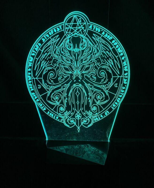 Cthulhu (lovecraft) Kraken Nightlight