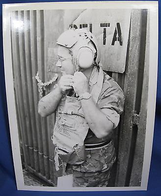 Vietnam War USMC Marine Aviator Camouflage Flight Suit Original Snapshot Photo Marine Flight Suit