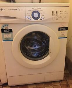LG 7kgs front load washing machine with manual Macquarie Fields Campbelltown Area Preview